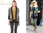 Gwen Stefani's Kelly Wearstler Somerville Varsity Sweater