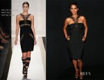 Halle Berry In Hervé Léger by Max Azria - 'We Will Always Love You: A Grammy Salute to Whitney Houston'