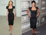 Halle Berry In Roland Mouret - 2012 Variety's Annual Power Of Women Event