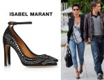 Halle Berry's Isabel Marant Stanley Pumps