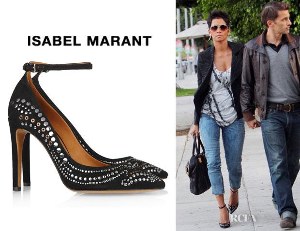 Halle Berry's Isabel Marant Stanley Pumps