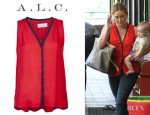 Hilary Duff's A.L.C. Eryn Top