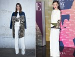 Huo Siyan In Celine - Vogue China's 120th Anniversary Celebration