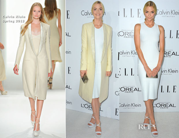 Jaime King In Calvin Klein - Elle's 19th Annual Women In Hollywood Celebration