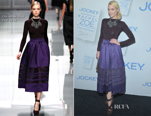 Jaime King In Christian Dior - Rachel Zoe's 'Major Must Haves' Range Launch