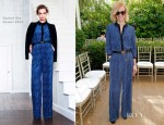 January Jones In Rachel Zoe - CFDA/Vogue Fashion Fund Event
