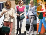 January Jones Loves Her Christian Louboutin 'Farida' Messenger Bag