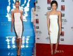Jenna Dewan-Tatum In Reem Acra - 'American Horror Story: Asylum' LA Screening