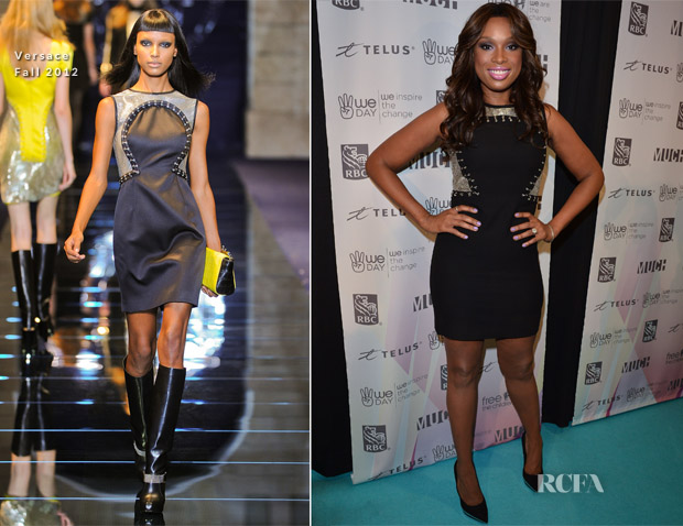 Jennifer Hudson In Versace - 'We Day'