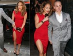 Jennifer Lopez In Hakaan - Anna Wintour's Paris Fashion Week Reception for President Barack Obama