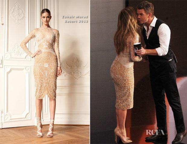 Jennifer Lopez in Zuhair Murad at GLAAD Media Awards