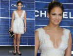 Jennifer Lopez In Dana Budeanu - Chanel Spring 2013 Presentation
