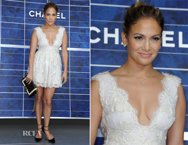 Jennifer lopez in chanel