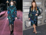 Jessica Biel In Gucci - Variety's 4th Annual Power Of Women Event
