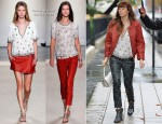 Jessica Biel In Isabel Marant - Out In Paris