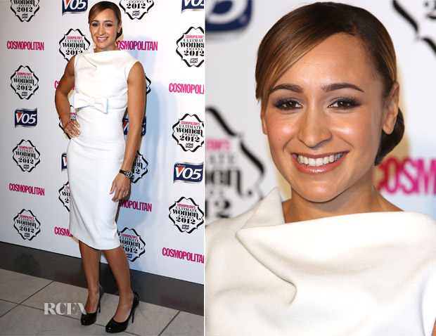 Jessica Ennis In Alexander McQueen - Cosmopolitan Ultimate Women Of The Year Awards