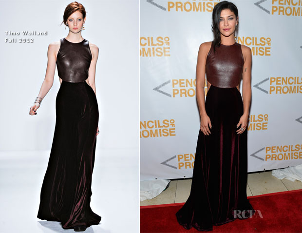 Jessica Szohr In Timo Weiland - 2nd Annual Pencils Of Promise Gala