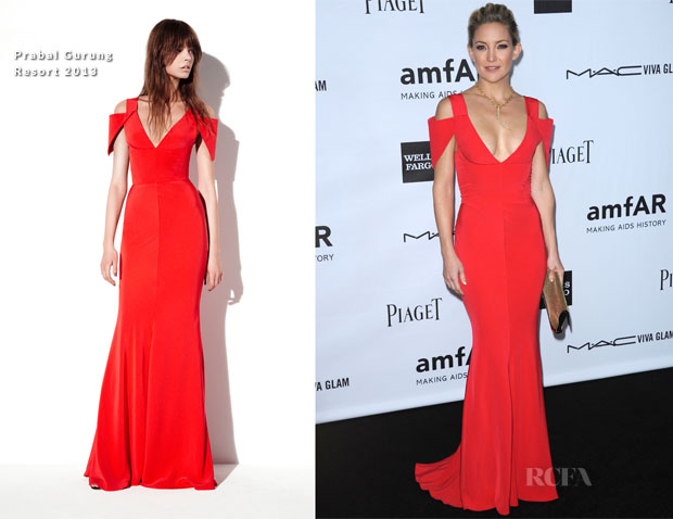 Kate Hudson In Prabal Gurung - amfAR 3rd Annual Inspiration Gala