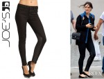 Katharine McPhee's Joe's Jeans Skinny Leather Jaupher