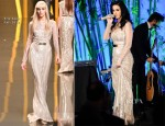 Katy Perry In Elie Saab - 2012 Hammer Gala