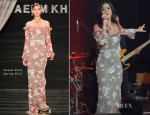 Katy Perry In Naeem Khan - amfAR's Inspiration Gala