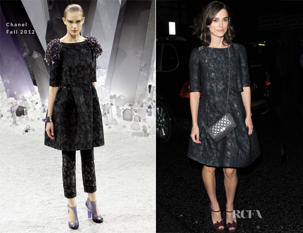 Keira Knightley In Chanel - Soho House