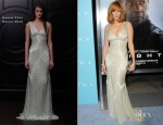 Kelly Reilly In Naeem Khan - 'Flight' LA Premiere