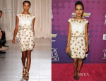 Kerry Washington In Marchesa - BET's Black Girls Rock 2012