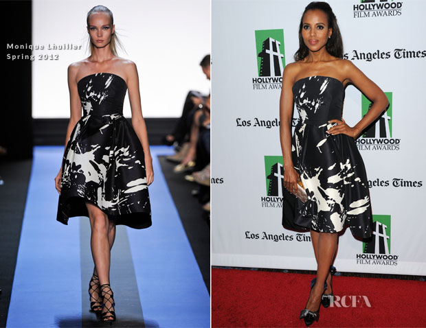 Kerry Washington In Monique Lhuiller - 16th Annual Hollywood Film Awards Gala