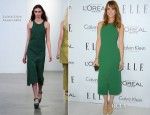 Kristen Wigg In Calvin Klein - Elle's 19th Annual Women In Hollywood Celebration