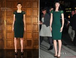 Krysten Ritter In Reem Acra - Late Show With David Letterman