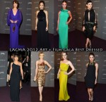 Who Was Your Best Dressed At The LACMA 2012 Art + Film Gala?