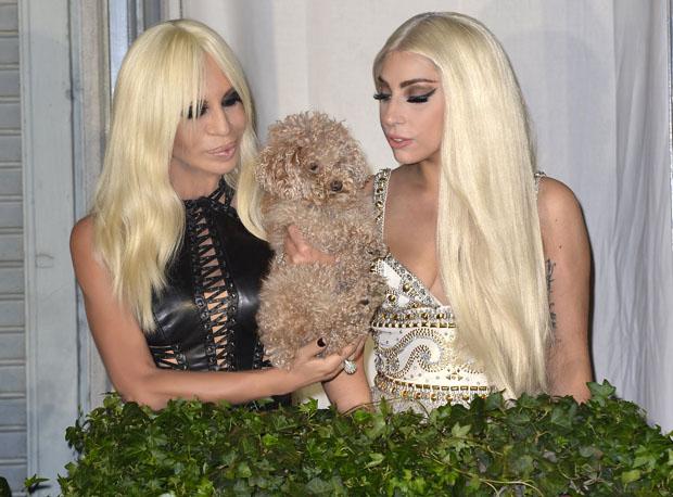 Lady Gaga - Donatella Versace 2