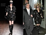 Lady Gaga In Alexander McQueen - Harrods Fragrance Launch