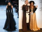 Lady Gaga In Saint Laurent - Yoko Ono Grant for Peace Ceremony