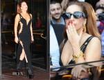 Lady Gaga In Vintage Versace - Hotel Principe di Savoia