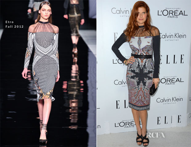 Lake Bell In Etro - Elle's 19th Annual Women In Hollywood Celebration