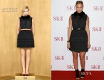 Lara Bingle In Louis Vuitton - SK-II Skincare Line Sydney Event