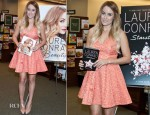 Lauren Conrad In Erin by Erin Fetherston - Barnes & Noble Pennsylvania Bookstore Apperance