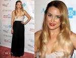Lauren Conrad In Paper Crown - Design for the Cure Gala