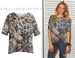 LeAnn Rimes' Stella McCartney Leopard Print Tee