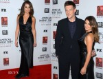 Lea Michele In Armani - 'American Horror Story: Asylum' LA Screening