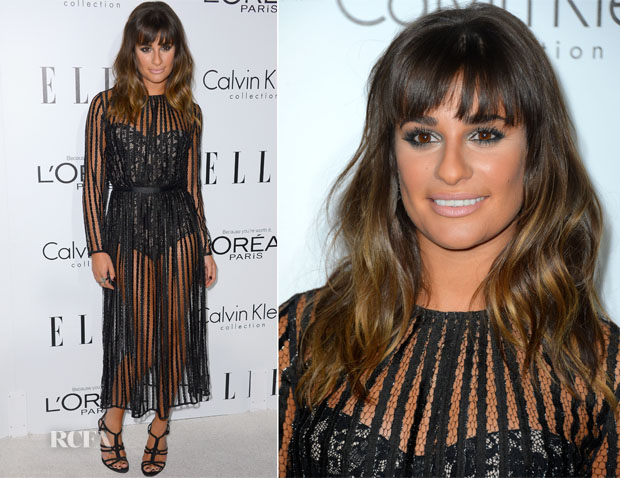 Lea Michele In Zimmermann - Elle's 19th Annual Women In Hollywood Celebration