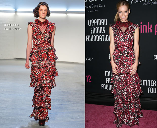 Leslie Mann In Rodarte - 8th Annual Pink Party