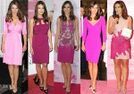 Elizabeth Hurley Goes Pink For Breast Cancer Awareness Month