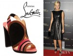 Malin Akerman's Christian Louboutin Fourmi Sandals