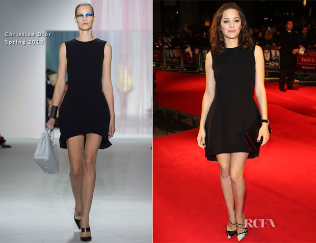 Marion Cotillard In Christian Dior - 'Rust And Bone' London Film Festival Premiere