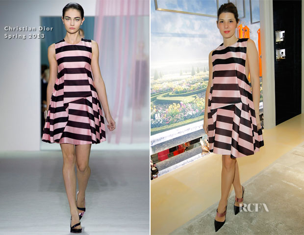 Marisa Tomei In Christian Dior -  Dior Beverly Hills Boutique Opening