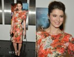 Mary Elizabeth Winstead In Erdem - 'Smashed' New York Premiere
