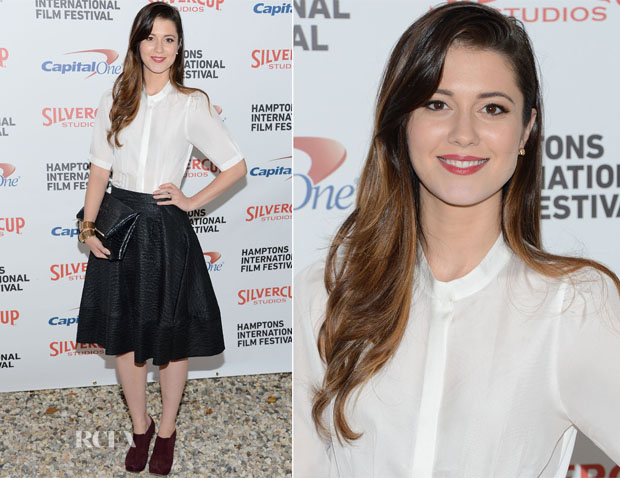 Mary Elizabeth Winstead In Guishem - Hamptons Film Festival Chairman's Reception